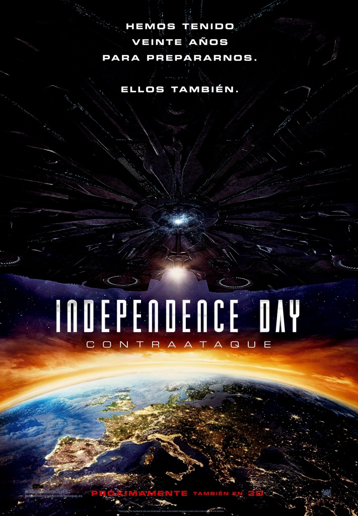 Independence Day: Contraataque (cartel)