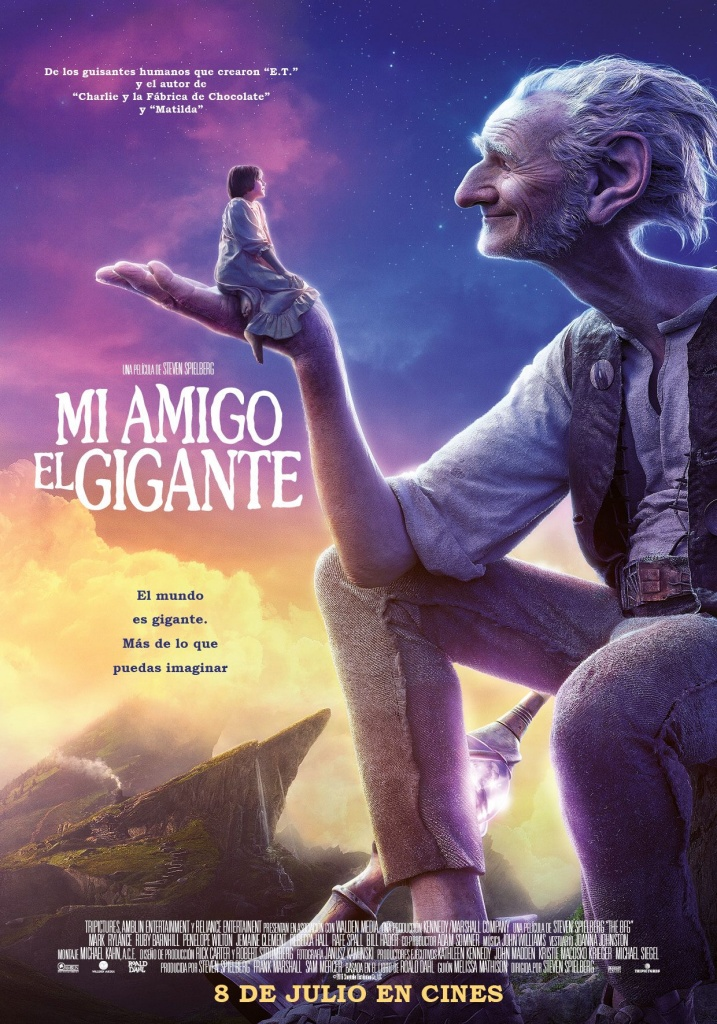 Mi amigo el gigante (cartel)