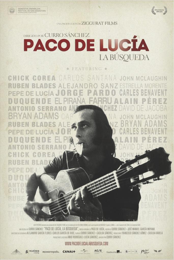 Poster Paco de Lucia