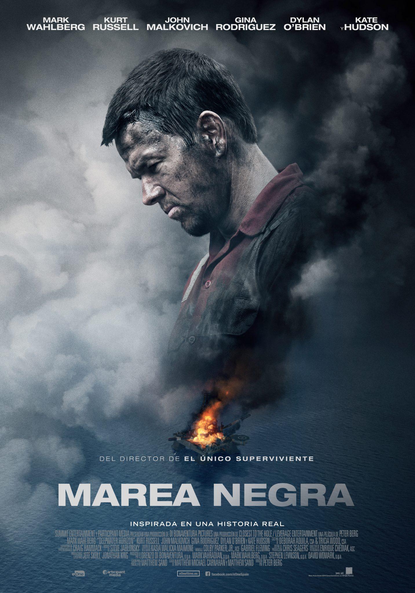 """MAREA NEGRA"" Cartel Final. Próximamente en cines"