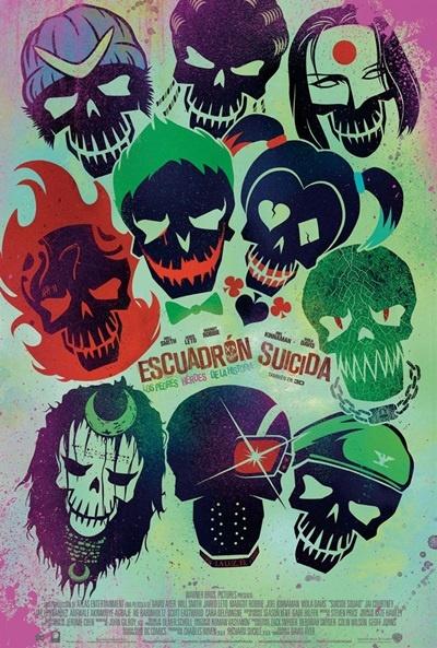 Escuadrón suicida (cartel)