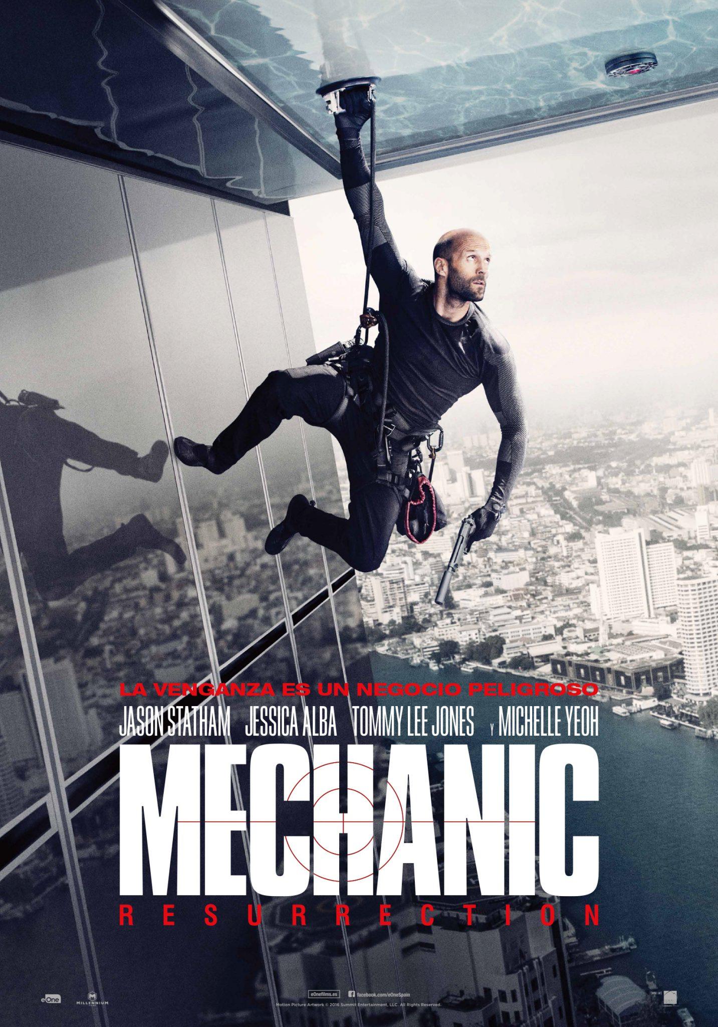 """Mechanic: Resurrection"". Estreno 16 de septiembre"