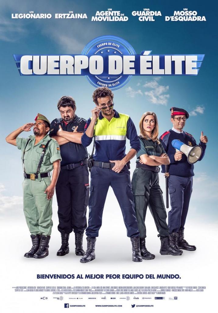 Cuerpo de élite (cartel)