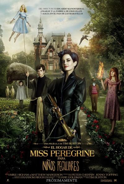 El hogar de Miss Peregrine para niños peculiares (cartel)