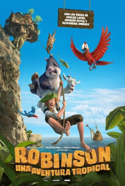 Robinson. Una aventura tropical (cartel)