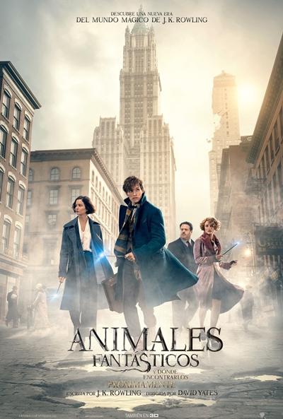 Animales fantásticos y dónde encontrarlos (cartel)