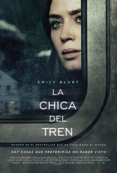 La chica del tren (cartel)