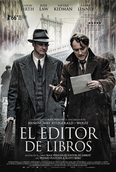 El editor de libros (cartel)