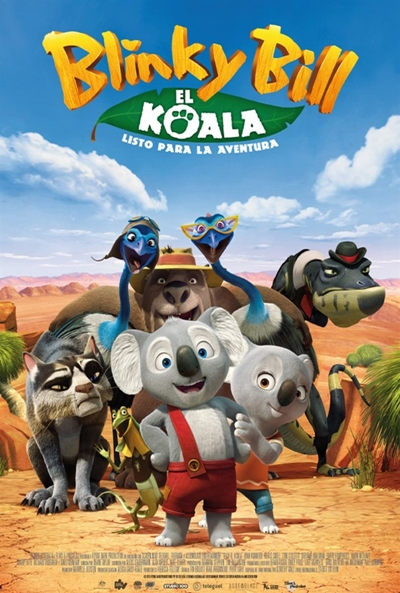 Blinky Bill, el koala (cartel)