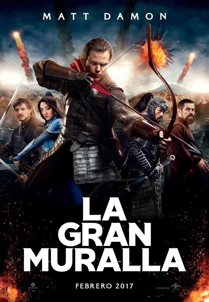 La gran muralla (cartel)