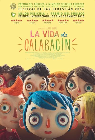 La vida de Calabacín (cartel)