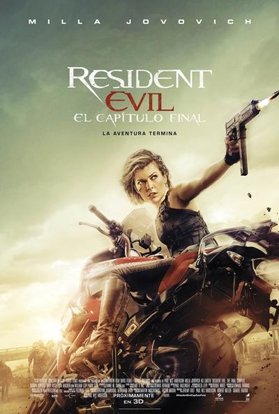Resident Evil: Capítulo final (cartel)
