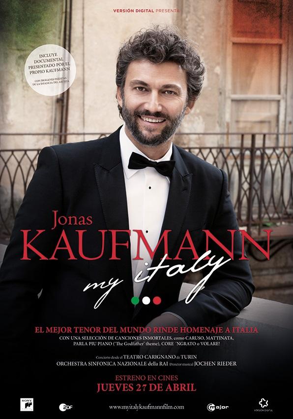 "Recital + Concierto JONAS KAUFMANN ""My Italy "" (cartel)"