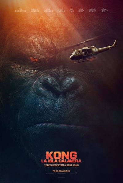 Kong: La isla calavera (cartel)