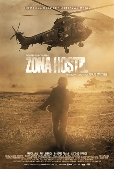 Zona hostil (cartel)