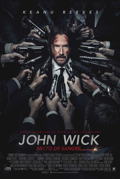 John Wick: Pacto de sangre (cartel)