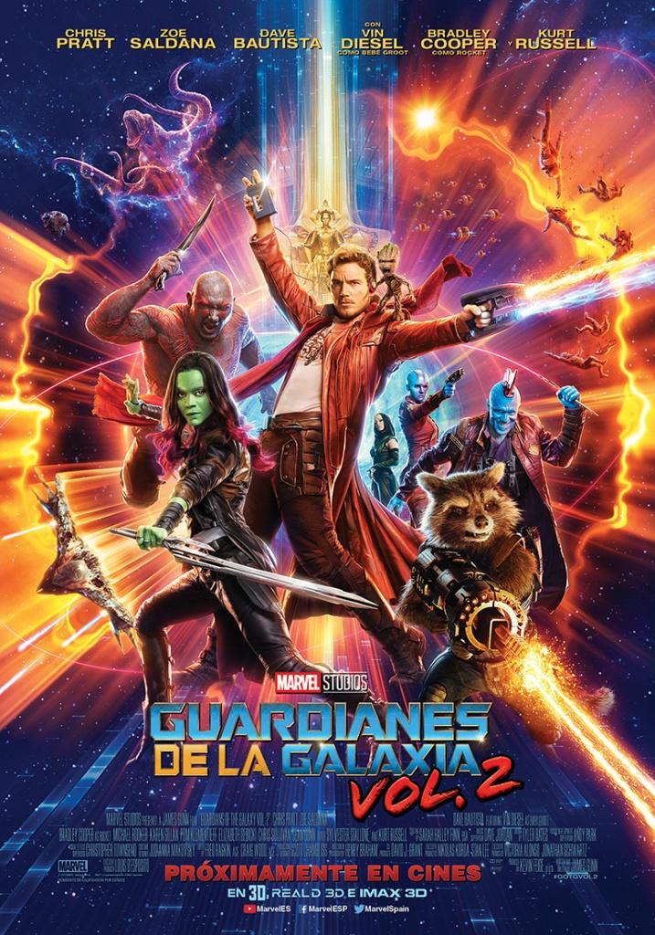 Guardianes de la galaxia Vol. 2 (cartel)