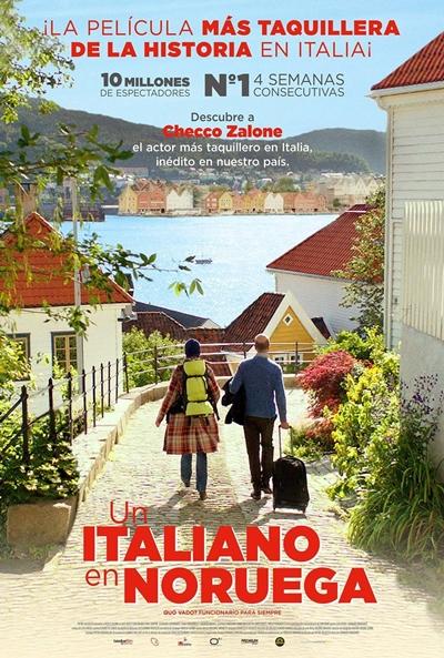 Un italiano en Noruega (cartel)