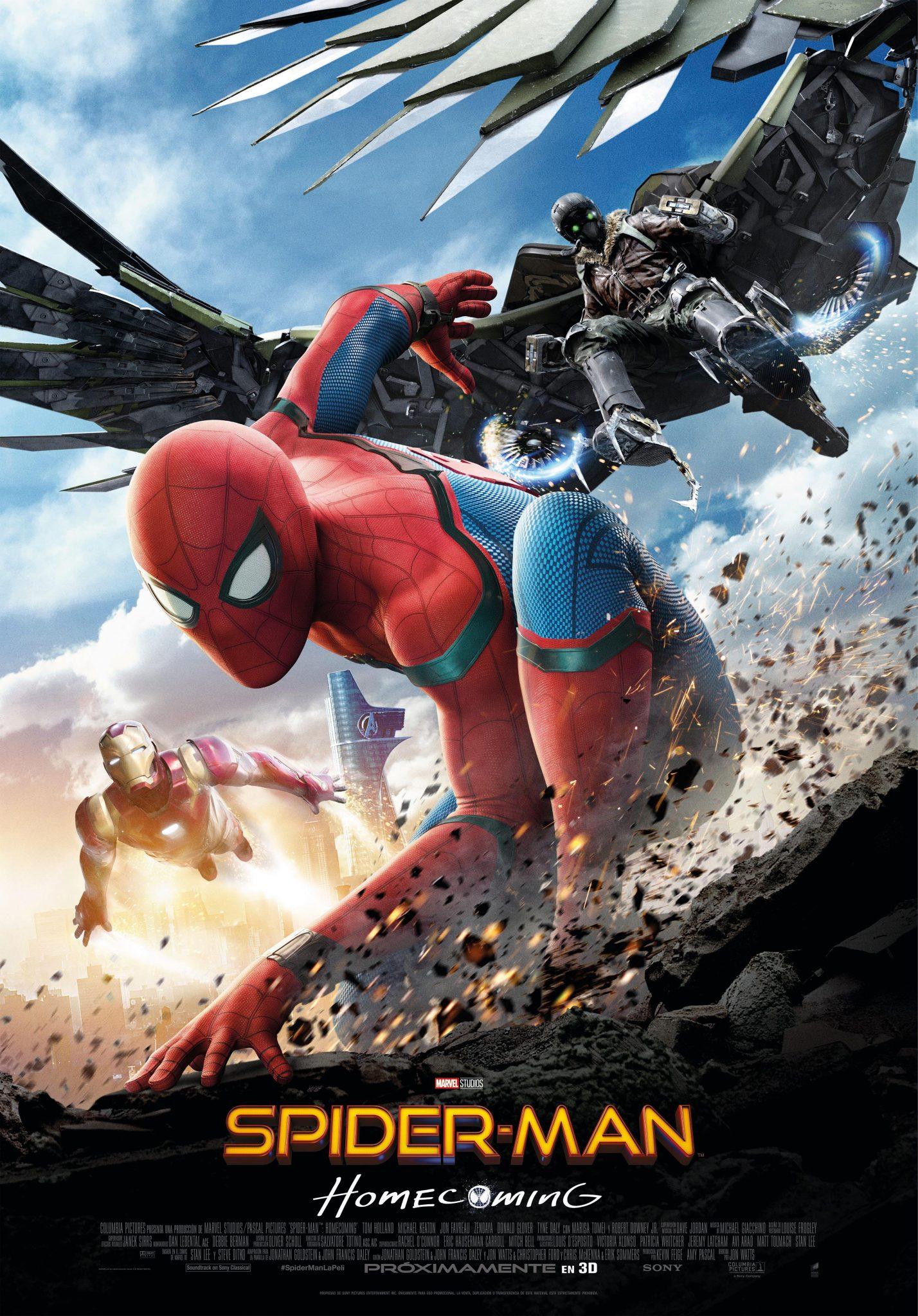 """""""SPIDER-MAN: HOMECOMING""""<br>Nuevo Cartel"""