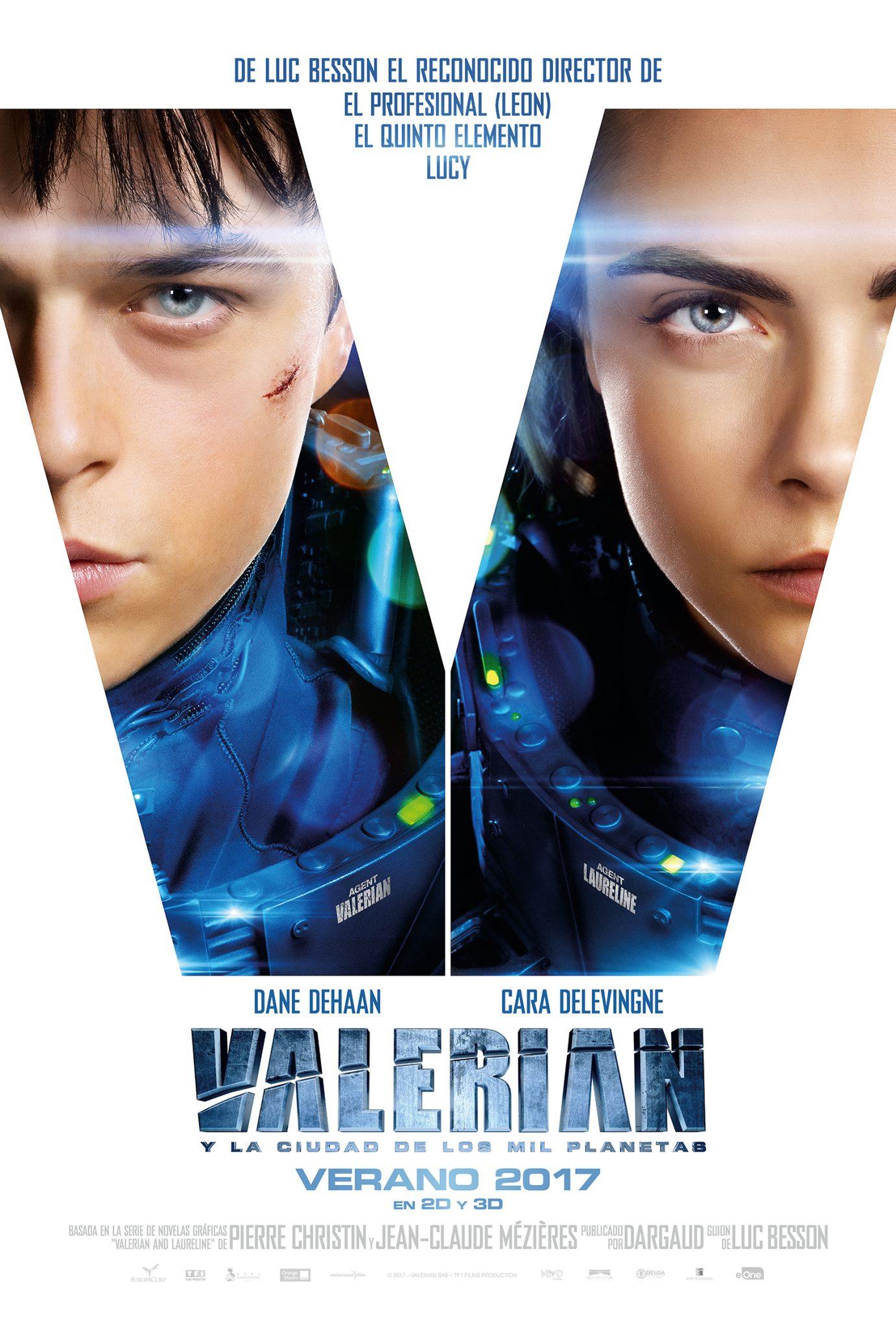 Valerian y la ciudad<br>de los mil planetas<br>Estreno 18 de agosto