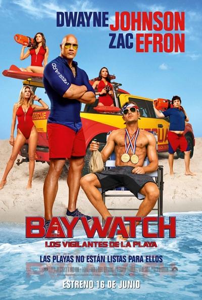 Baywatch: Los vigilantes de la playa (cartel)