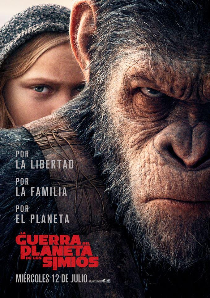 La guerra del planeta de los simios (cartel)