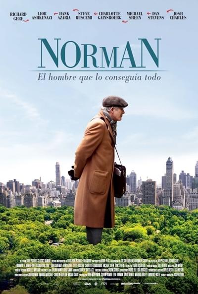 Norman, el hombre que lo conseguía todo (cartel)