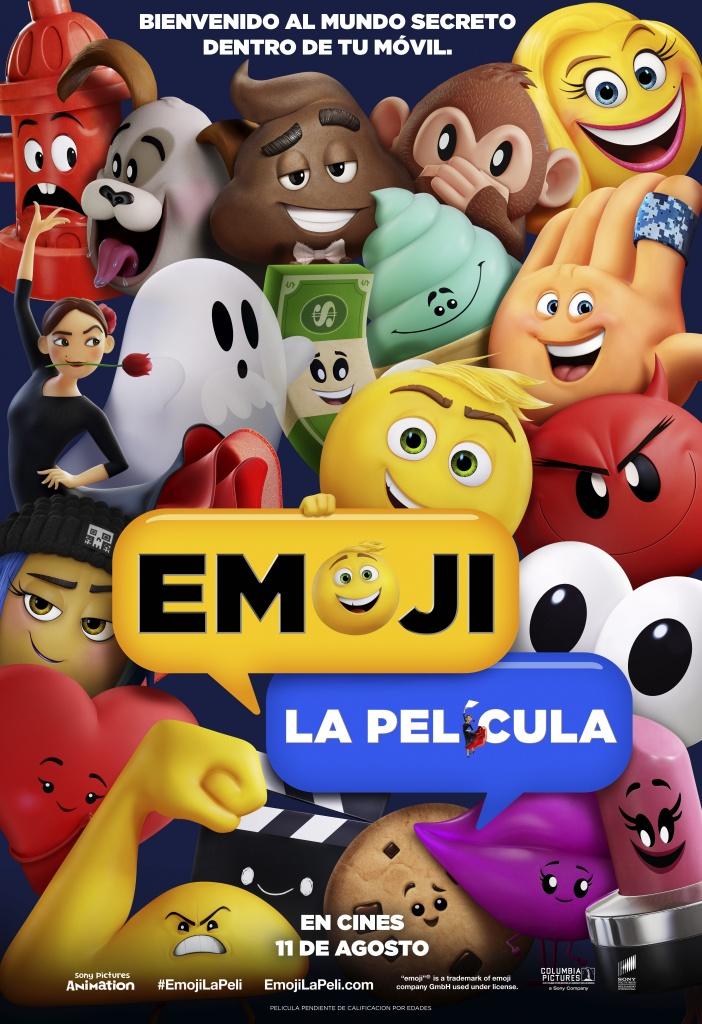 Emoji: La película (cartel)