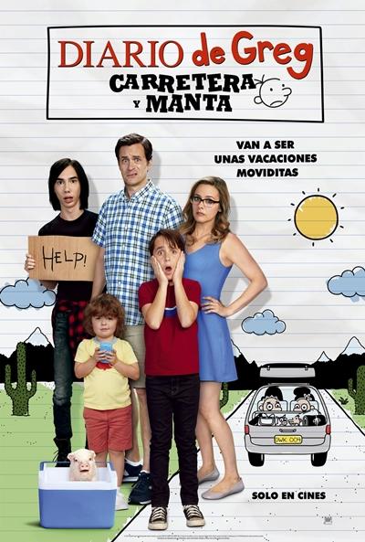 Diario de Greg: Carretera y manta (cartel)