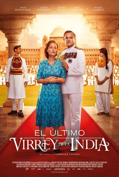 El último virrey de la India (cartel)