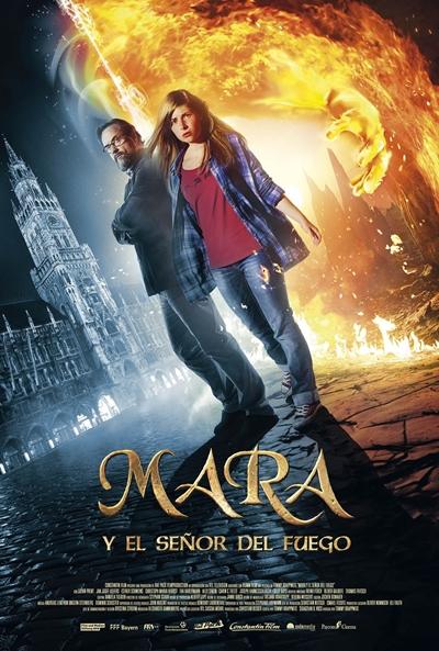 Mara y el señor del fuego (cartel)