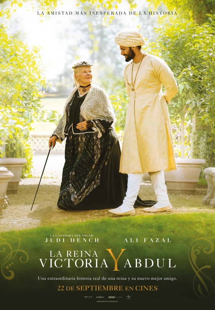 La Reina Victoria y Abdul (cartel)
