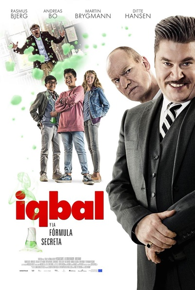 Iqbal y la fórmula secreta (cartel)