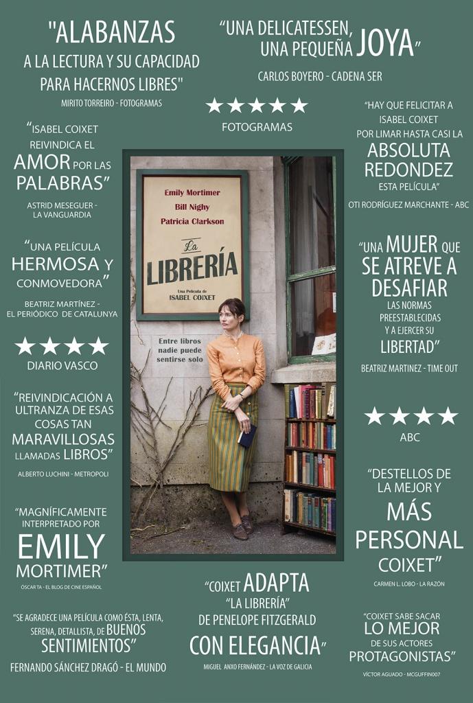 La librería (cartel)