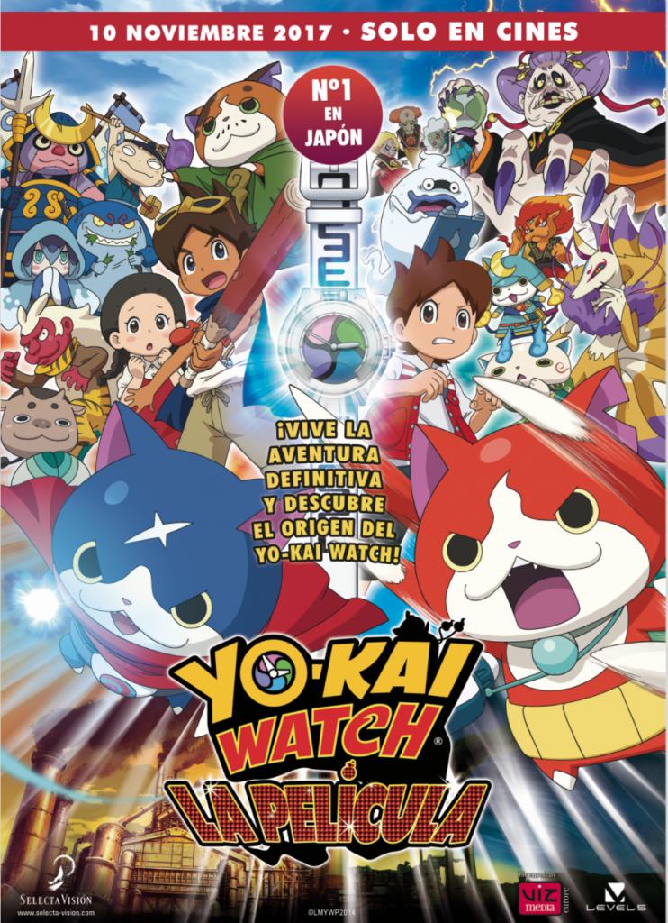 Yo-Kai Watch, la película (cartel)
