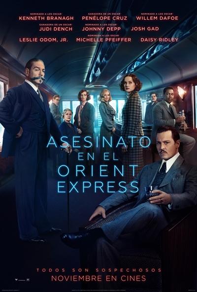 Asesinato en el Orient Express (cartel)