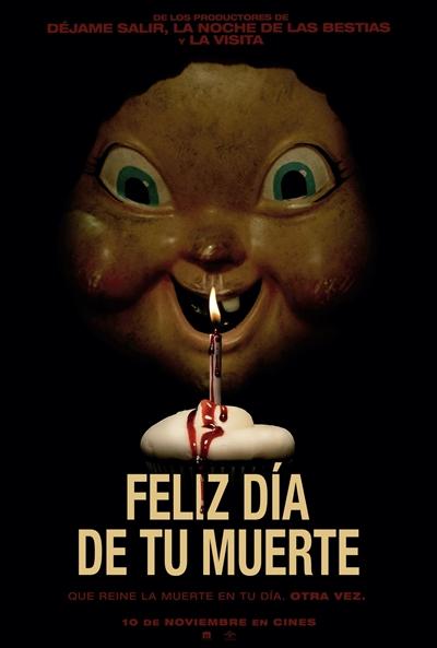 Feliz día de tu muerte (cartel)