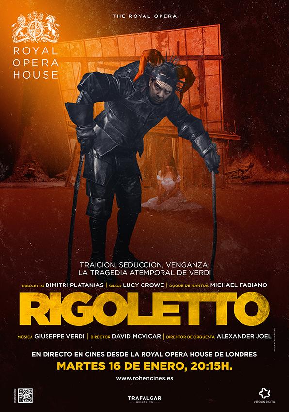 Ópera LIVE. RIGOLETTO (cartel)