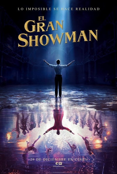 El gran showman (cartel)