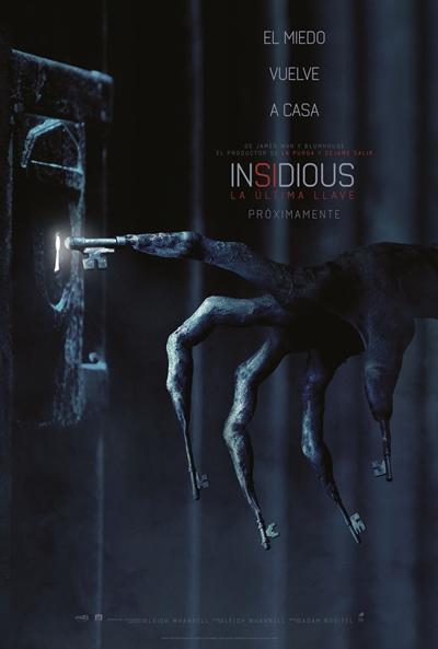 Insidious: La última llave (cartel)