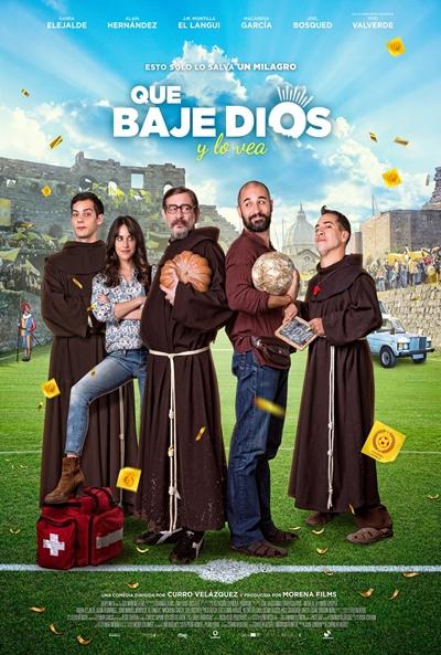 Que baje Dios y lo vea (cartel)
