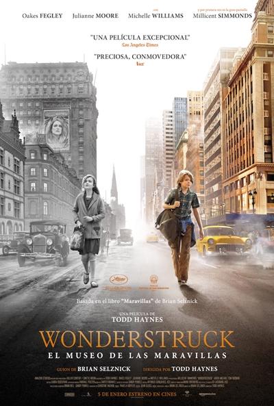 Wonderstruck. El museo de las maravillas (cartel)
