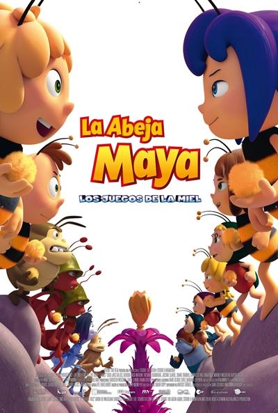La abeja Maya: Los juegos de la miel (cartel)