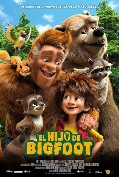 El hijo de Bigfoot (cartel)