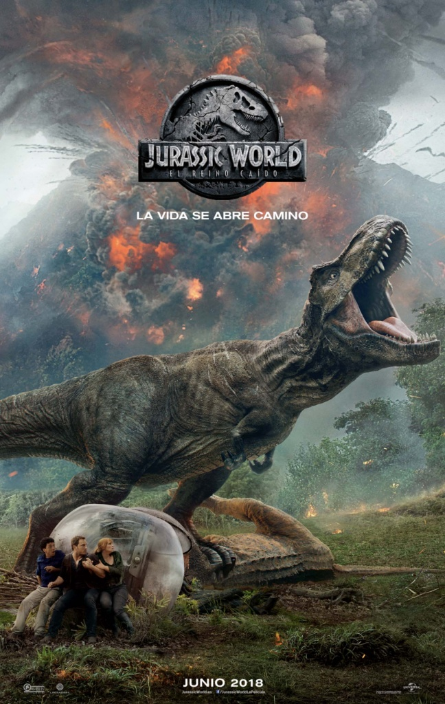 Jurassic World: El reino caído (cartel)