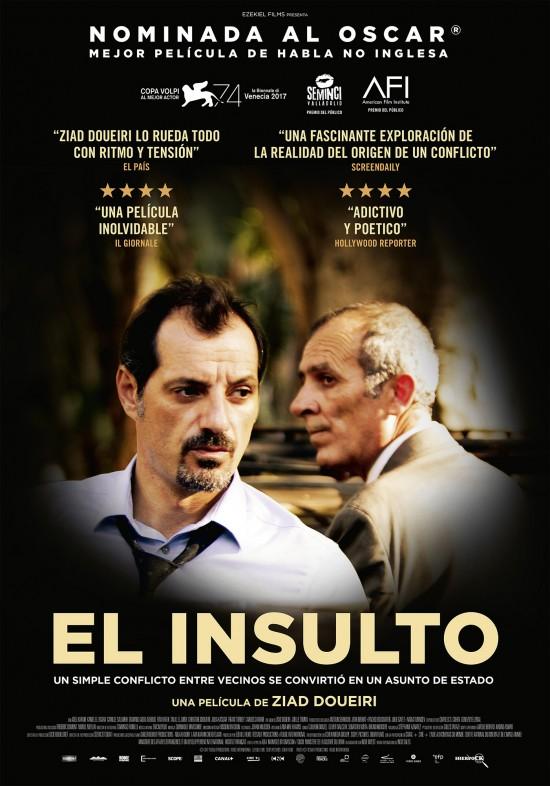 El insulto (cartel)