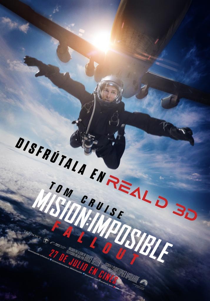 Misión imposible: Fallout (cartel)