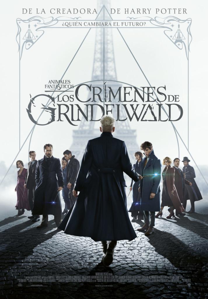 Animales fantásticos: Los crímenes de Grindelwald (cartel)