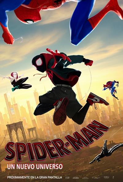 Spider-Man: Un nuevo universo (cartel)