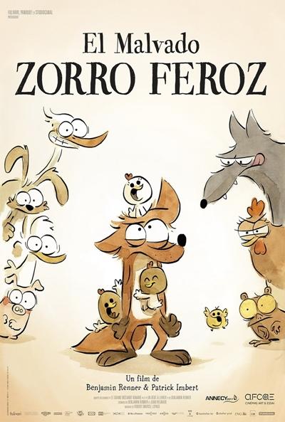 El malvado zorro feroz (cartel)